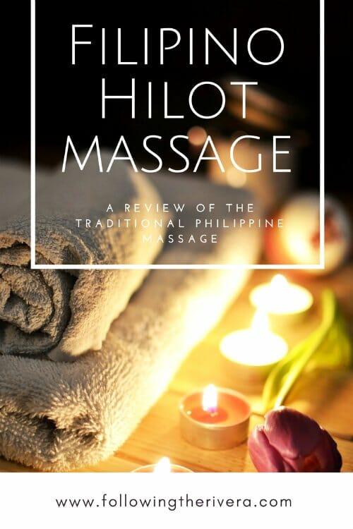 Filipino hilot massage