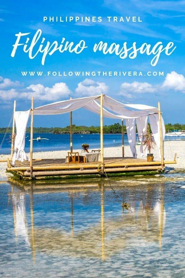 Filipino massage
