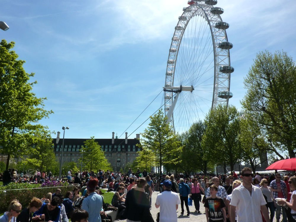 five top places for people watching - London South Bank