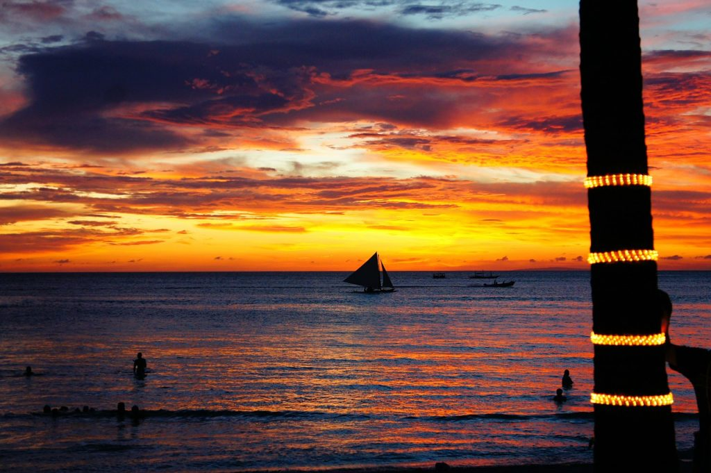 Exploring Boracay - sunset