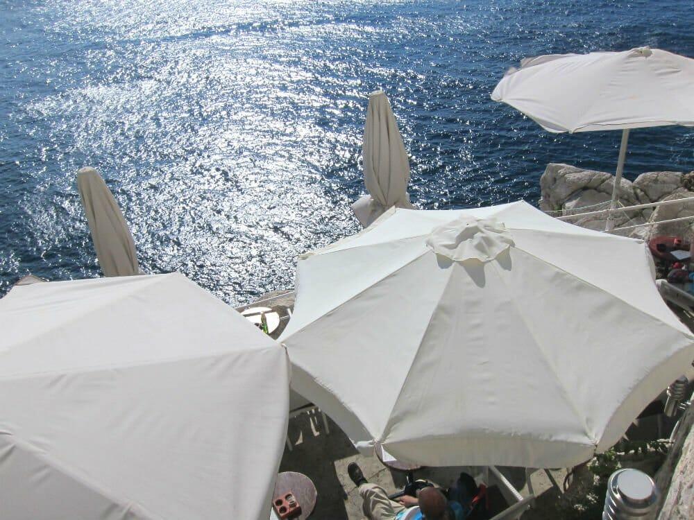 Dubrovnik - Buza umbrellas