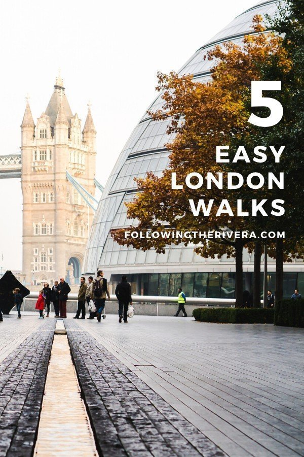 Tower Bridge in London — London walks