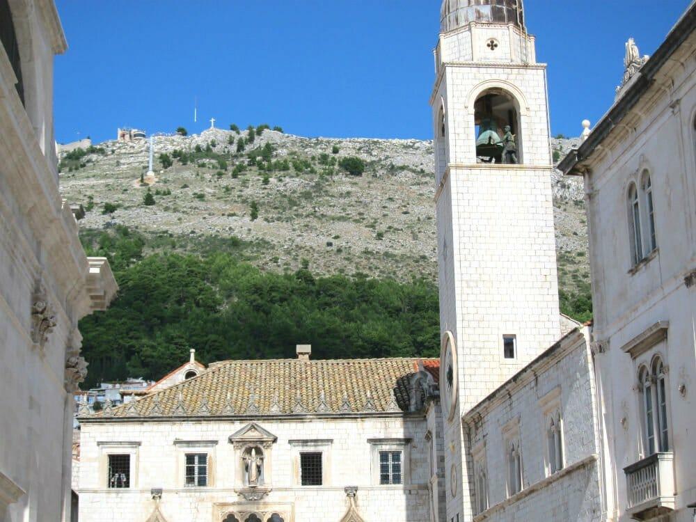 Photo essay Dubrovnik - church tower