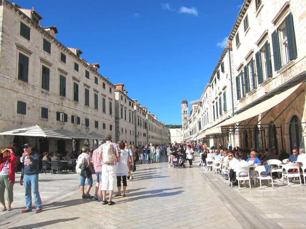 Photo essay Dubrovnik - Old Town streets
