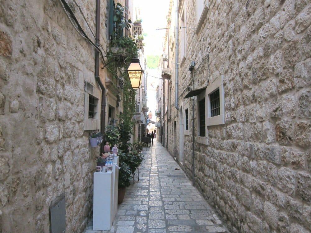 Photo essay Dubrovnik - side streets