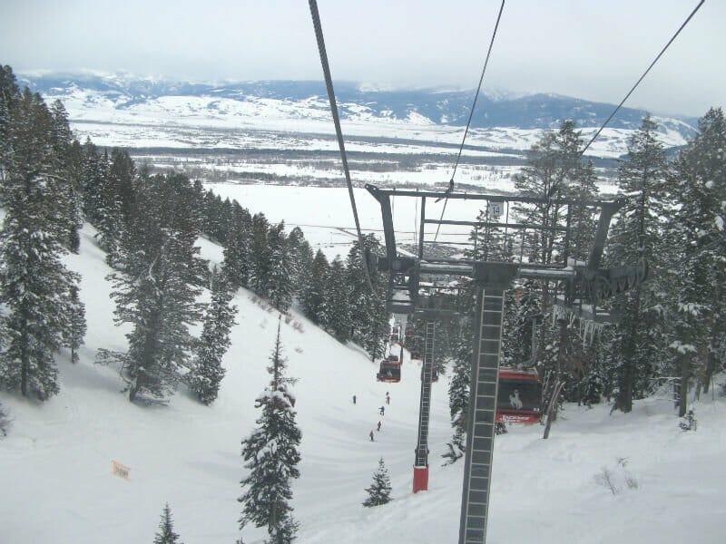 Guaranteed white Christmas - Jackson Hole