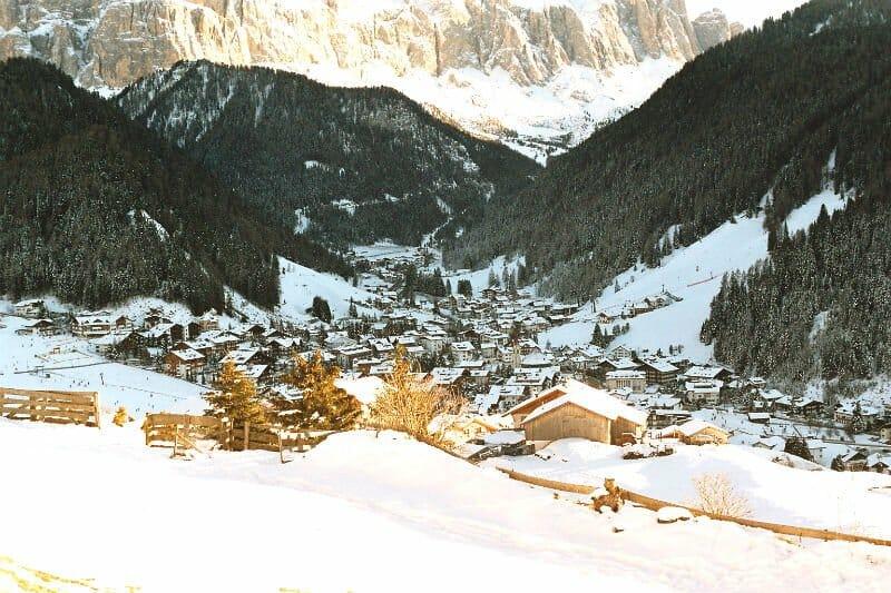 Guaranteed white Christmas - Selva val Gardena