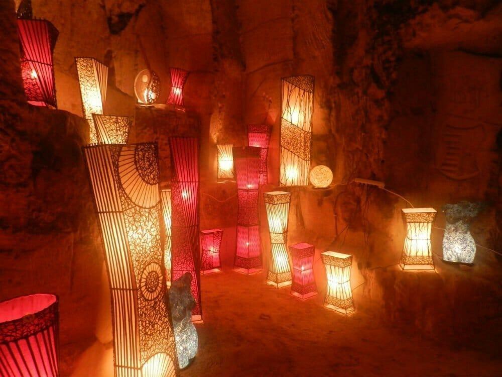 European Christmas market destinations - Valkenburg caves