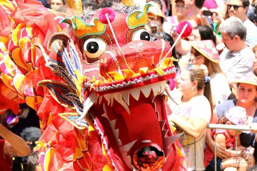 Chinese New Year around the world - Liberdade Chinese New year