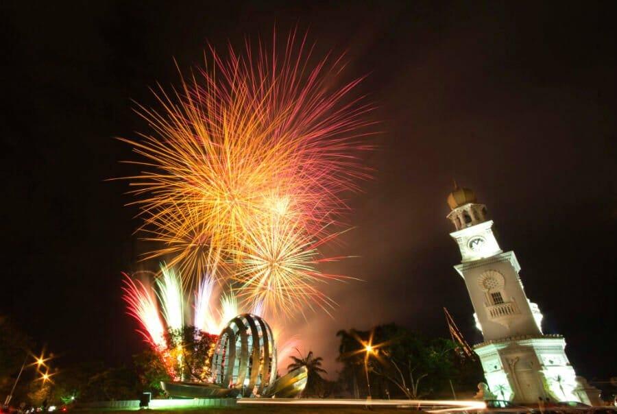Chinese New Year outside China, Penang Malaysia