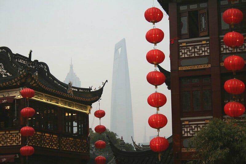 Chinese New Year around the world - Shanghai Chinese New Year