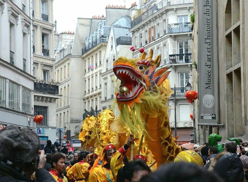Chinese New Year around the world - Paris Chinese New Year