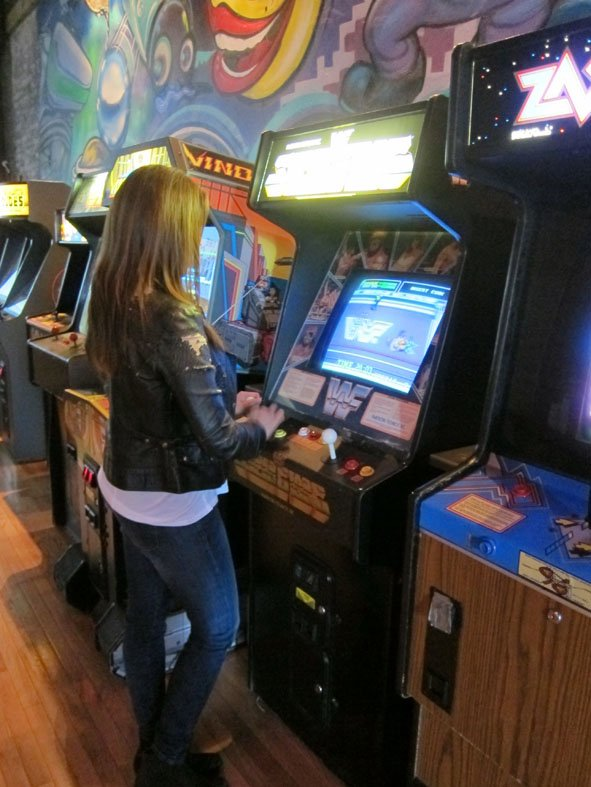 2 days in Chicago - the Arcade Bar