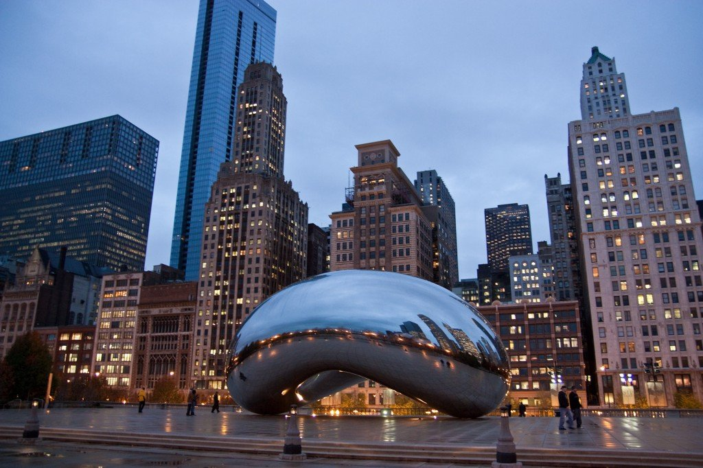 48 hours in Chicago - Cloud Gate a.k.a The Bean
