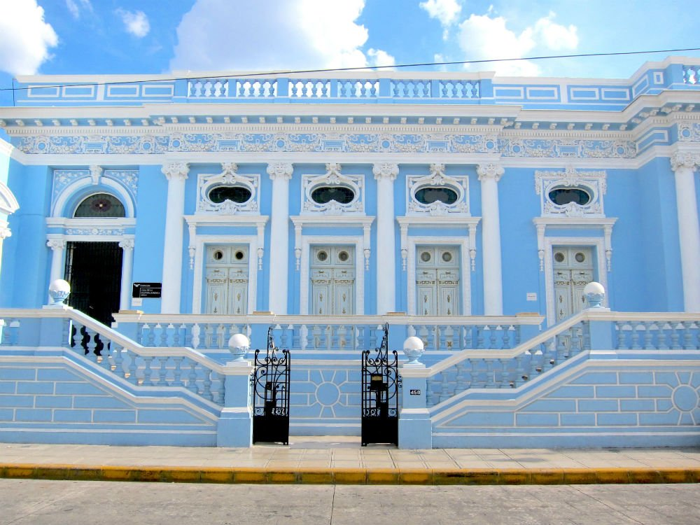 Discovering Merida - Blue House