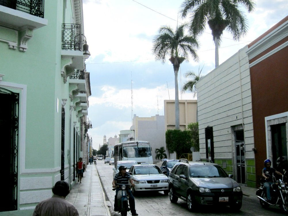 What to see in Merida Mexico - streets of Merida