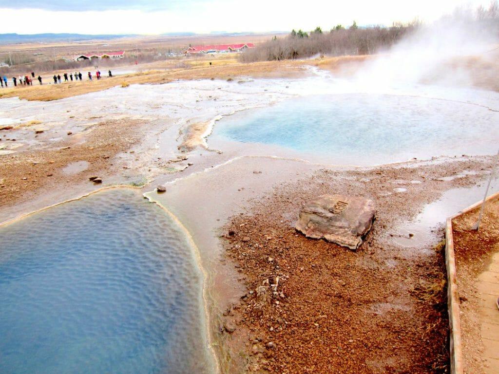 Travel to Iceland in November - Geyser