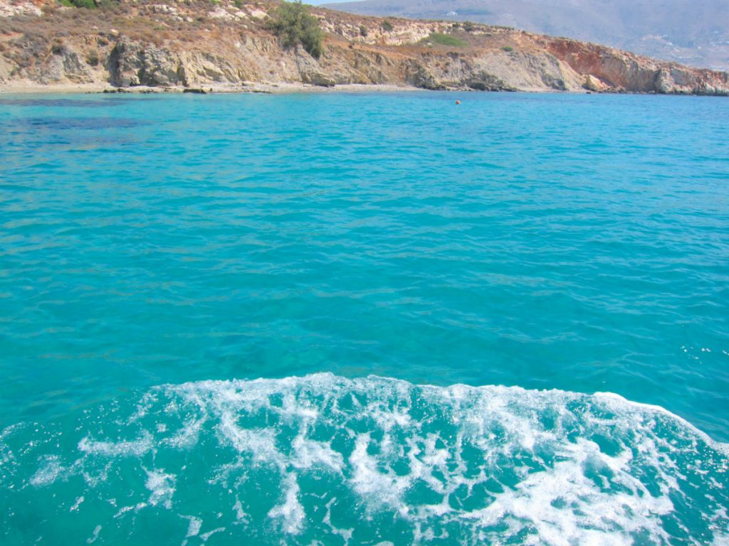 Holidays to Paros - blue waters