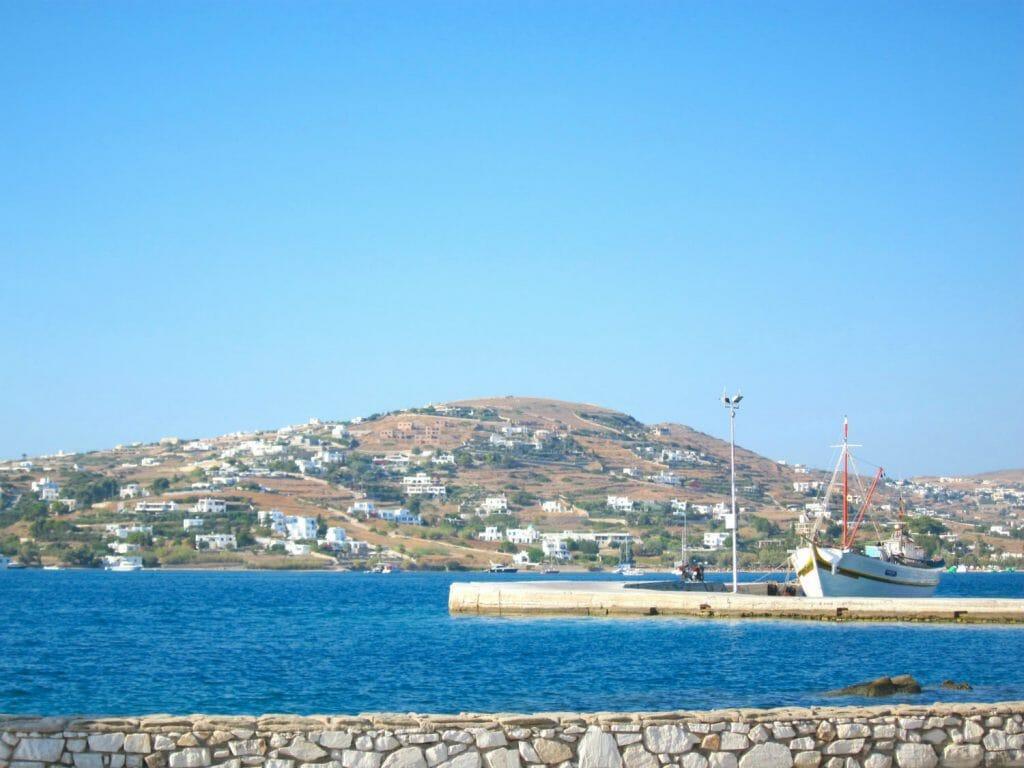 Holidays to Paros - boat in Paros