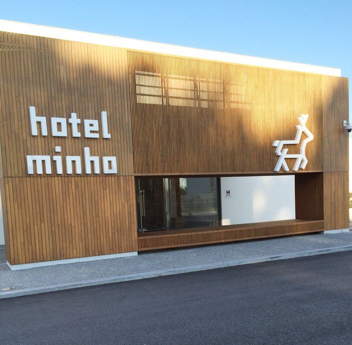 Hotel Minho from the front
