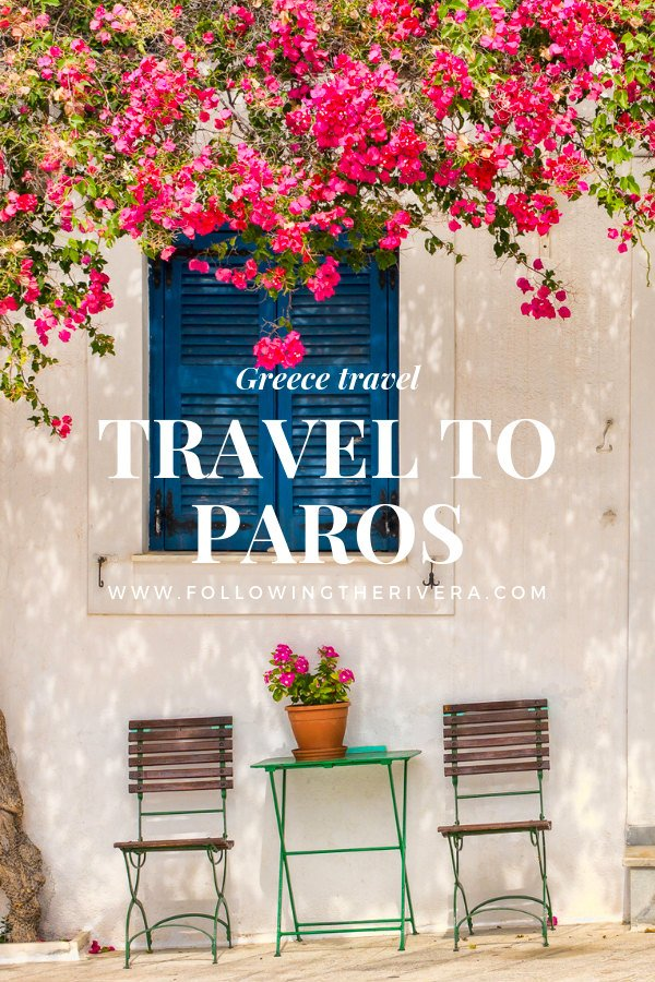 Travel to Paros