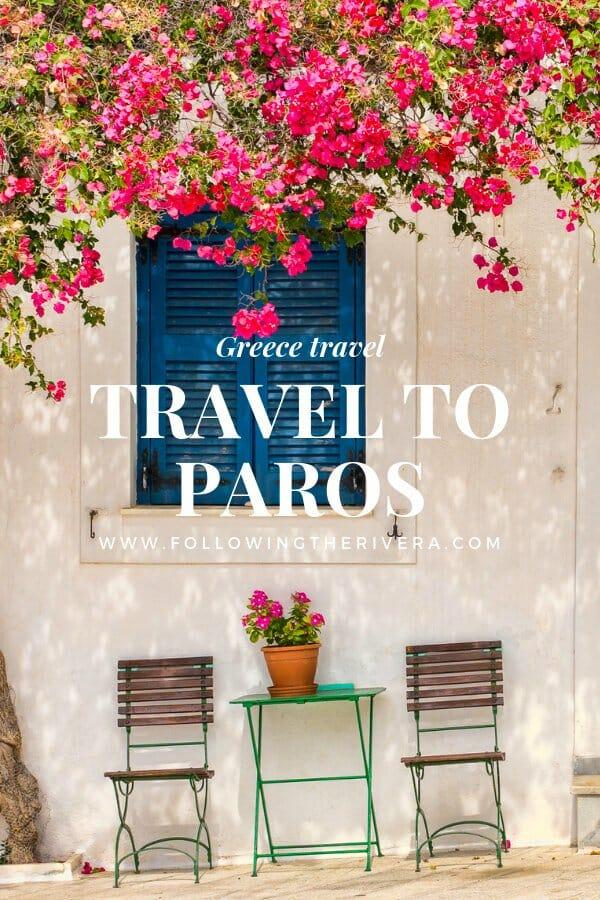 Travel to Paros