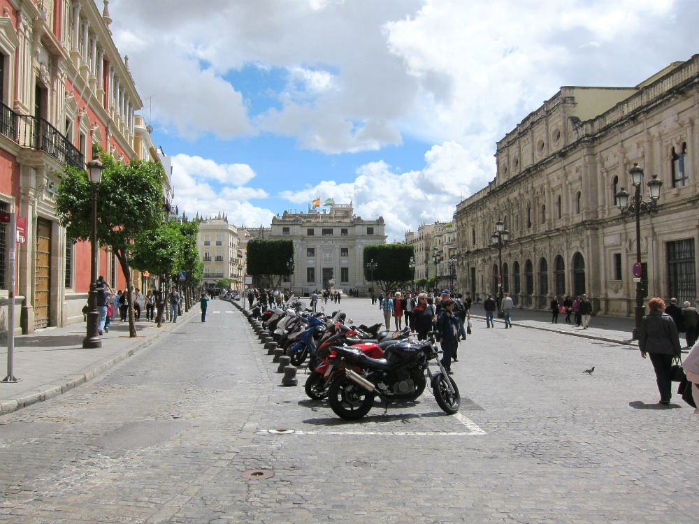 Travel solo and step outside your comfort zone - Sevilla street