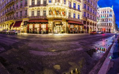 A stay at Hotel Sacher in Vienna