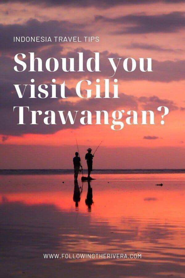 visit Gili Trawangan