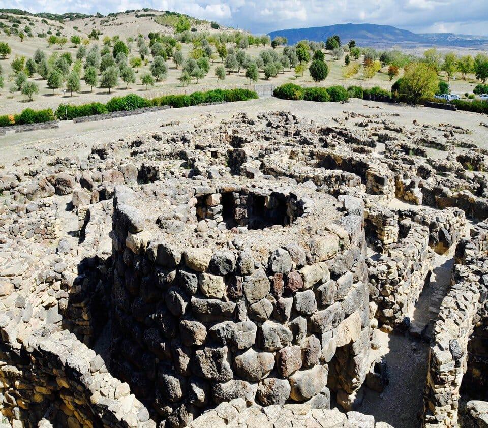 Best places to photograph Sardinia - Su Nuraxi
