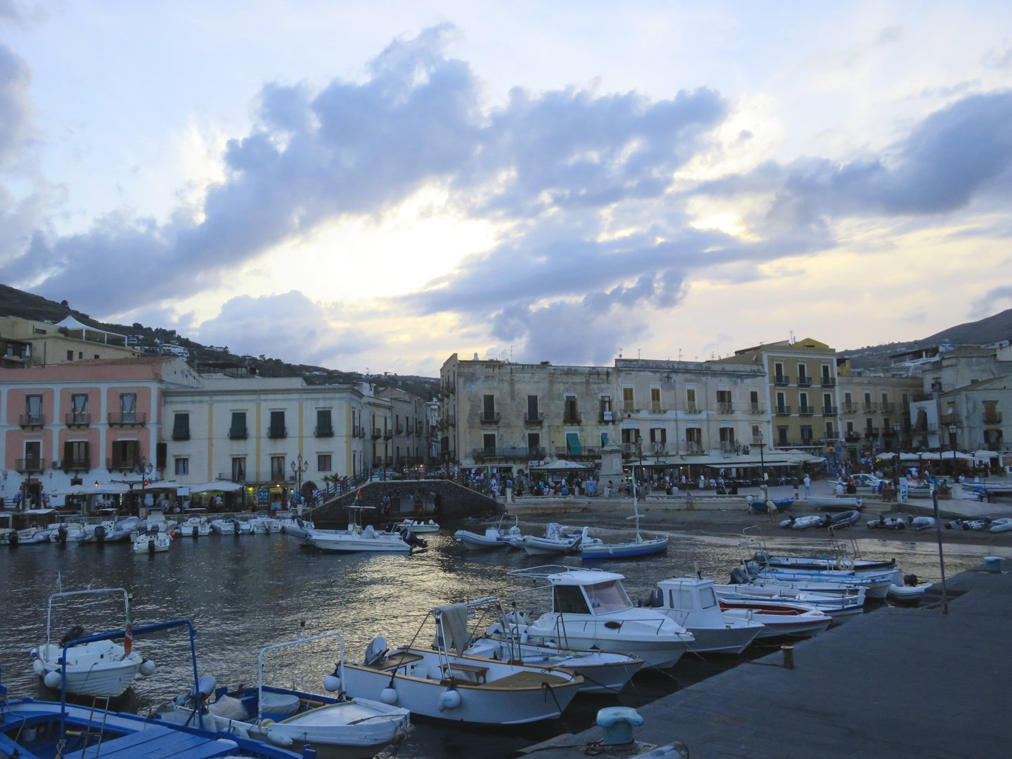 Marina Corta in Lipari Sicily - things to do in Lipari