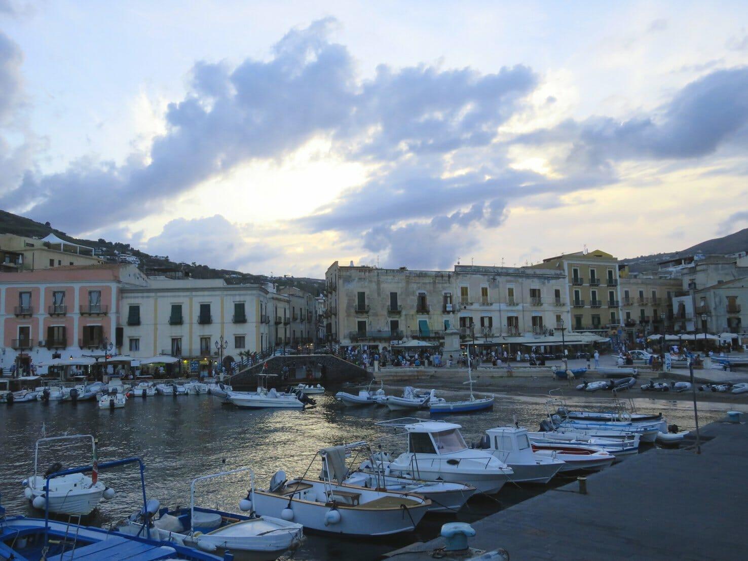 Marina Corta in Lipari Sicily - things to do in Lipari