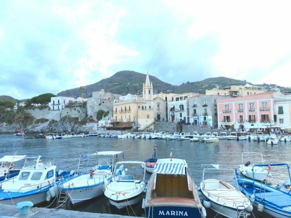 What to see in Lipari Sicily - Marina Corta