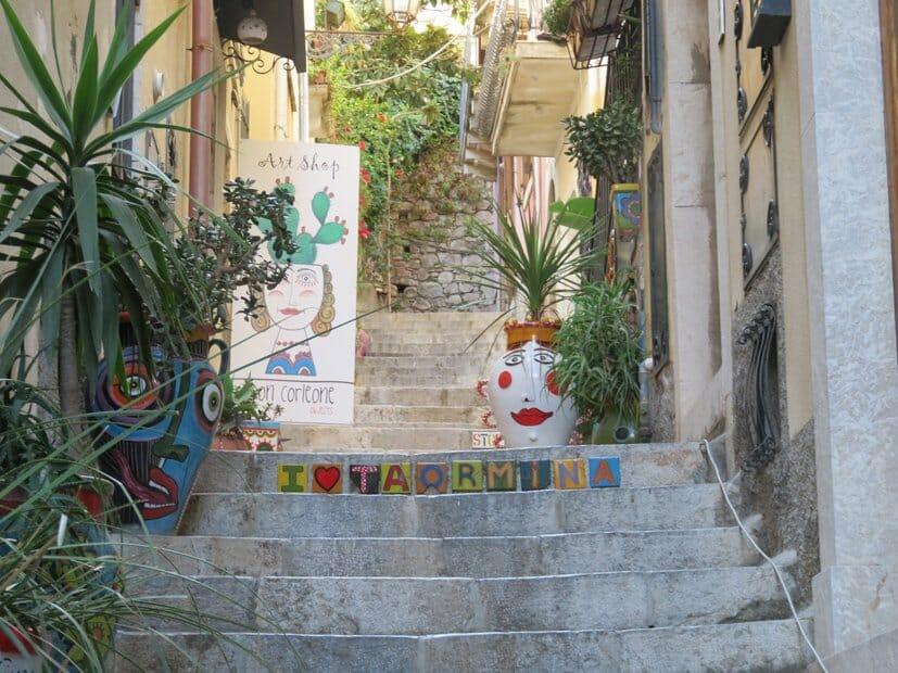 Italy road trip: The quietest part of Taormina