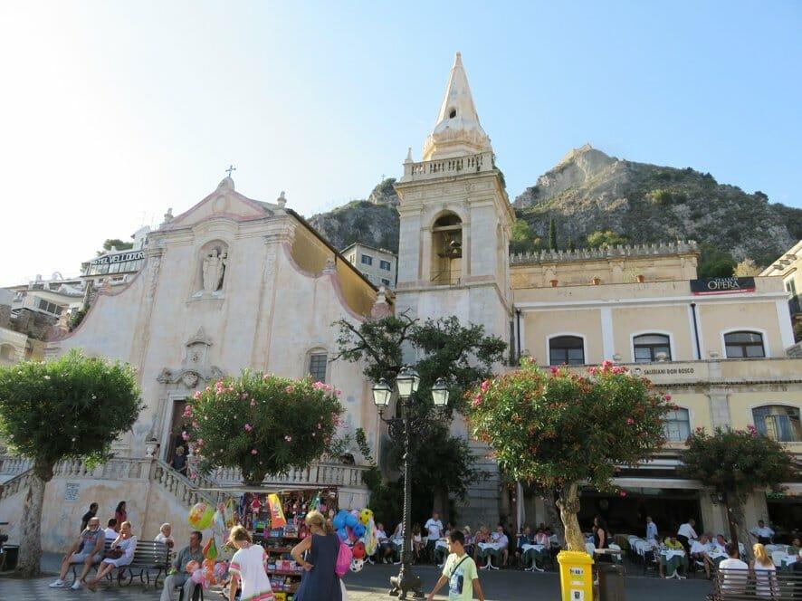 Italy road trip: Taormina centre, Sicily