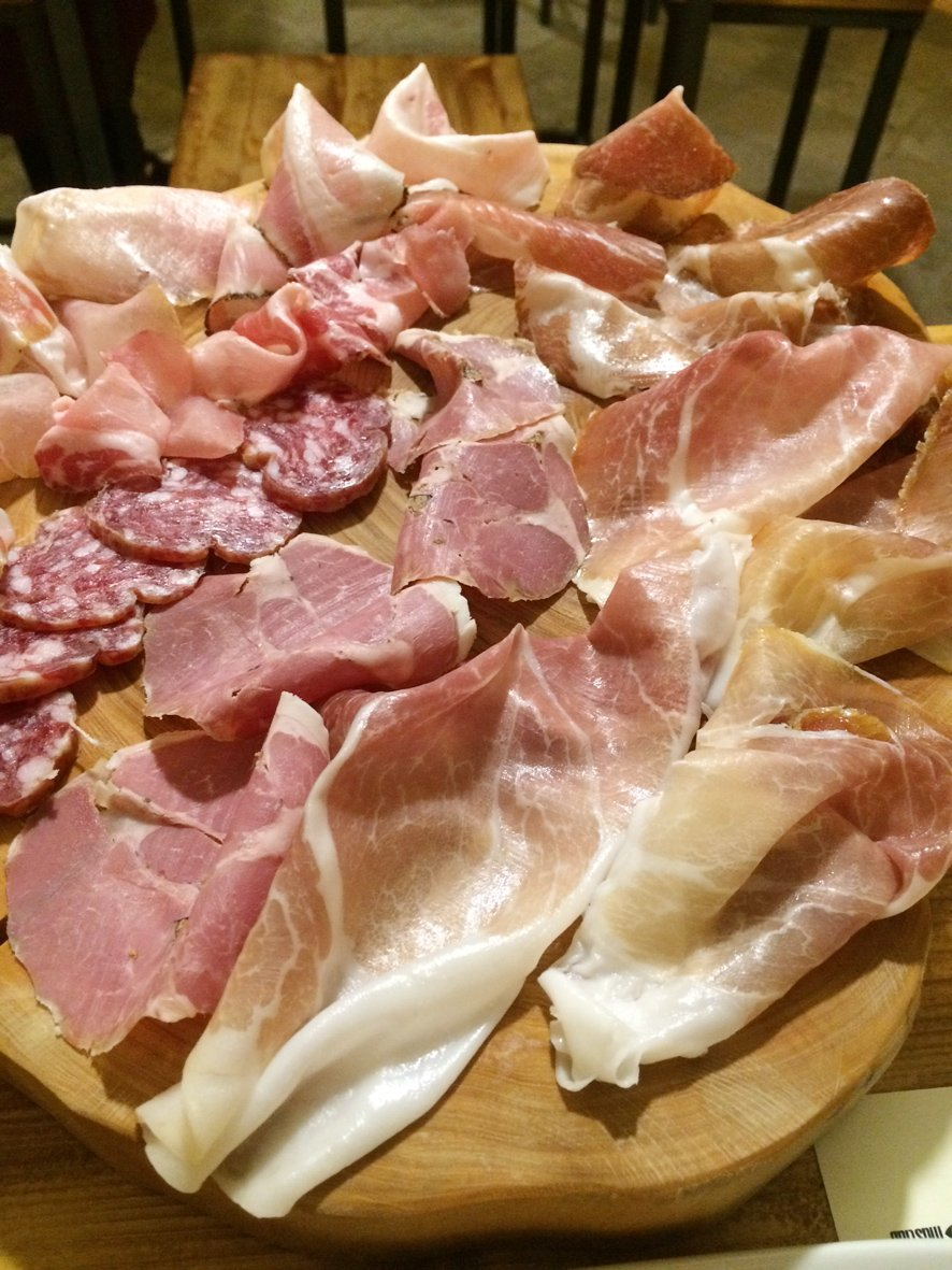 Italy road trip: ham eating in Lecce