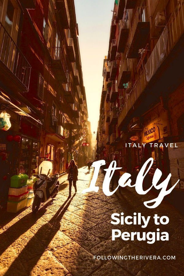A road trip around Italy — from Sicily to Perugia 2