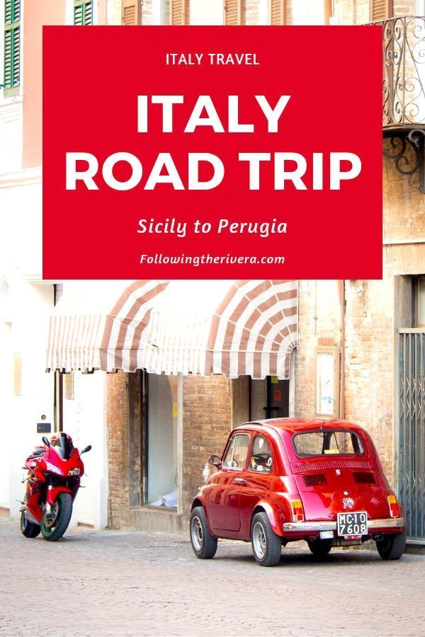 A road trip around Italy — from Sicily to Perugia 3