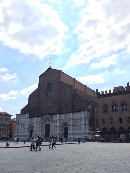 Seeing Italy on a road trip - Siena Veneto: Duomo di Bologna in...Bologna