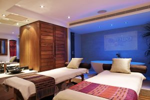 luxury couples spa packages London Valentine's Day: Bed for 2 at Ajala Spa Orchid Suite