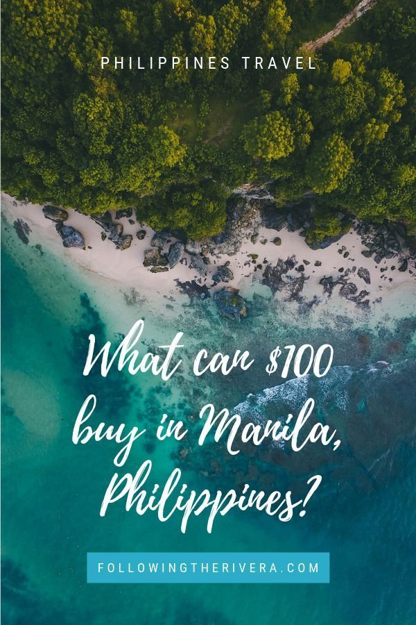 What can $100 buy in the Philippines_
