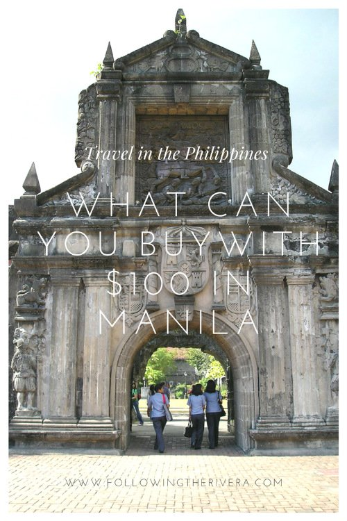what can $100 buy in the philippines