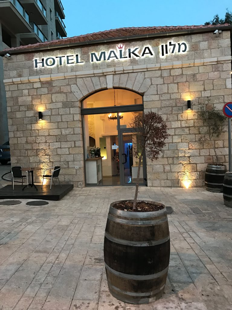 central boutique hotels in Jerusalem - Hotel Malka