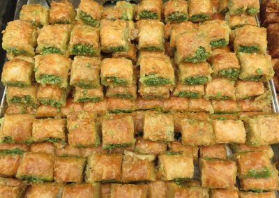 Sticky and sinfully sweet baklava