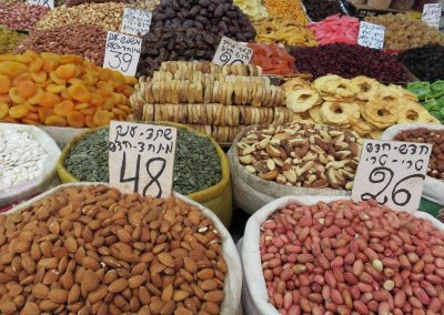 Nuts, dried fruits and more