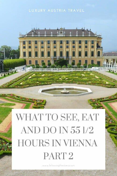 A luxury weekend in Vienna part 1 3