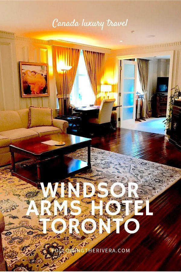 The Windsor Arms Hotel Toronto — luxury living in Yorkville 3