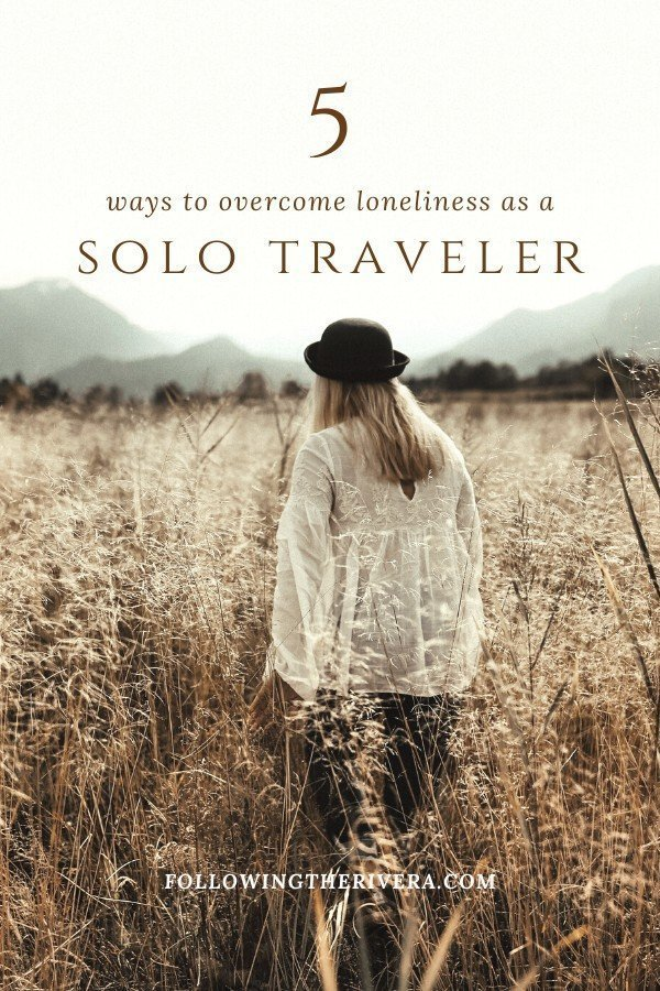 5 ways to overcome loneliness as a lone traveller 1