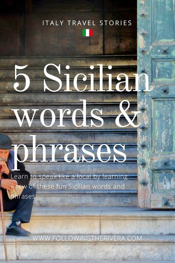 5 Sicilian words and phrases to try on your travels 2