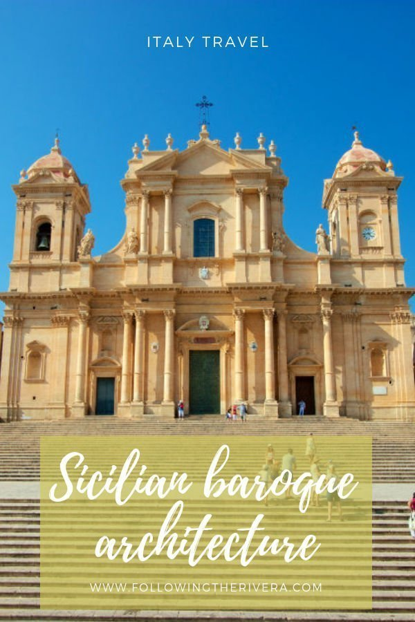 Where to find Sicilian baroque architecture in Noto 2